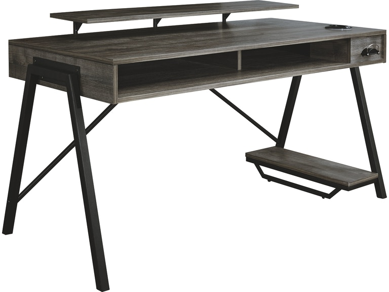 Signature Design By Ashley Home Office Barolli Gaming Desk H700 28 Turner Furniture Company