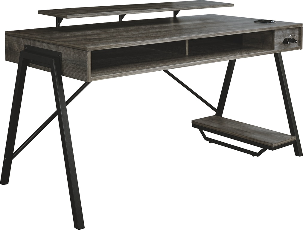 Signature Design By Ashley Home Office Barolli Gaming Desk H700 28 Markson S Furniture