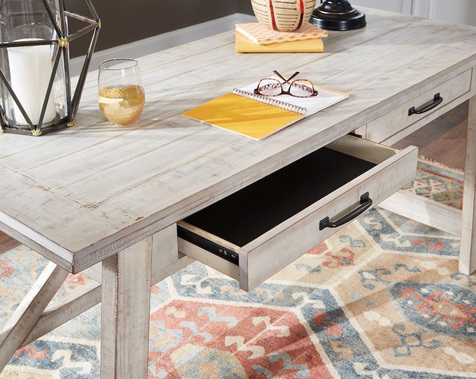 Fantastic Signature Design By Ashley Carynhurst 60 Home Office Desk Ibusinesslaw Wood Chair Design Ideas Ibusinesslaworg