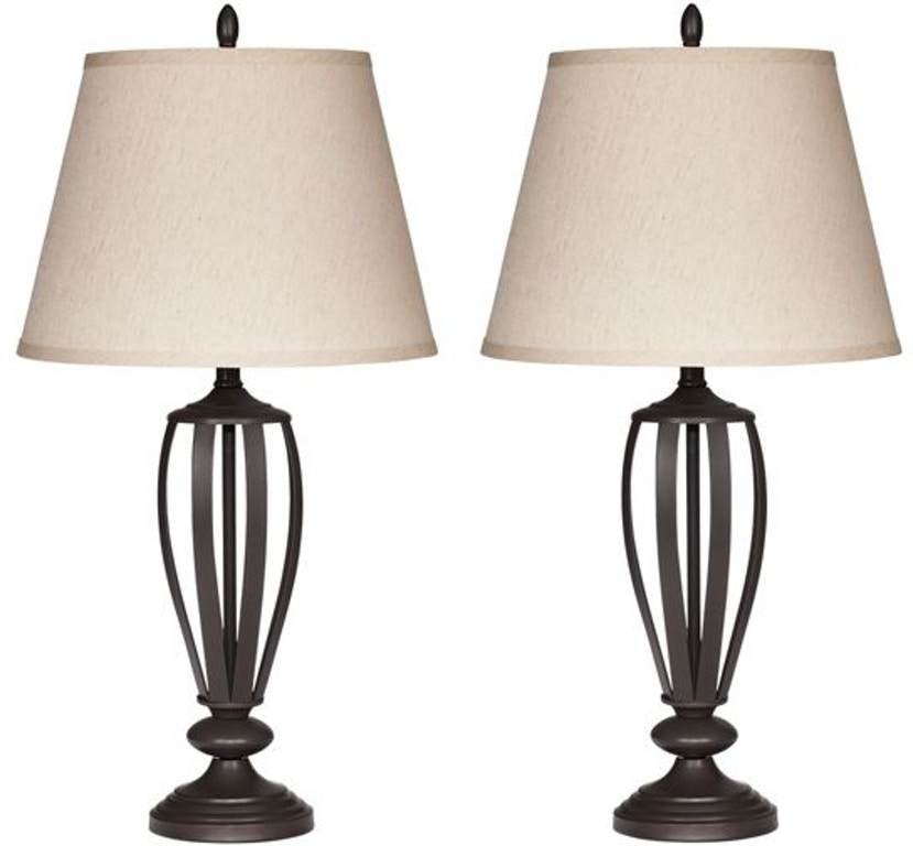 Signature Design By Ashley Lamps And Lighting Mildred Table Lamp Set Of 2 L201944 Furniture