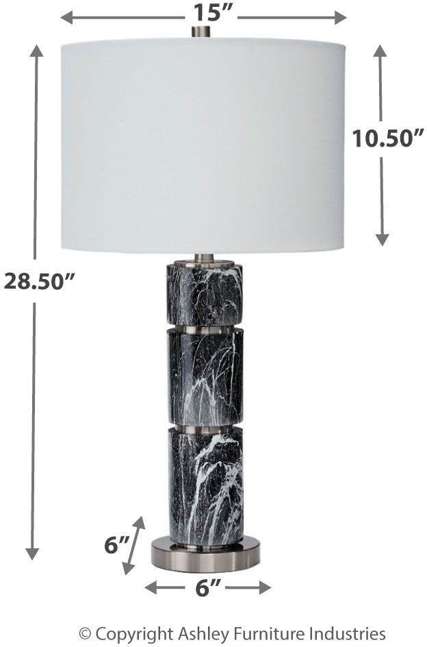 Signature Design By Ashley Lamps And Lighting Maricela Table Lamp
