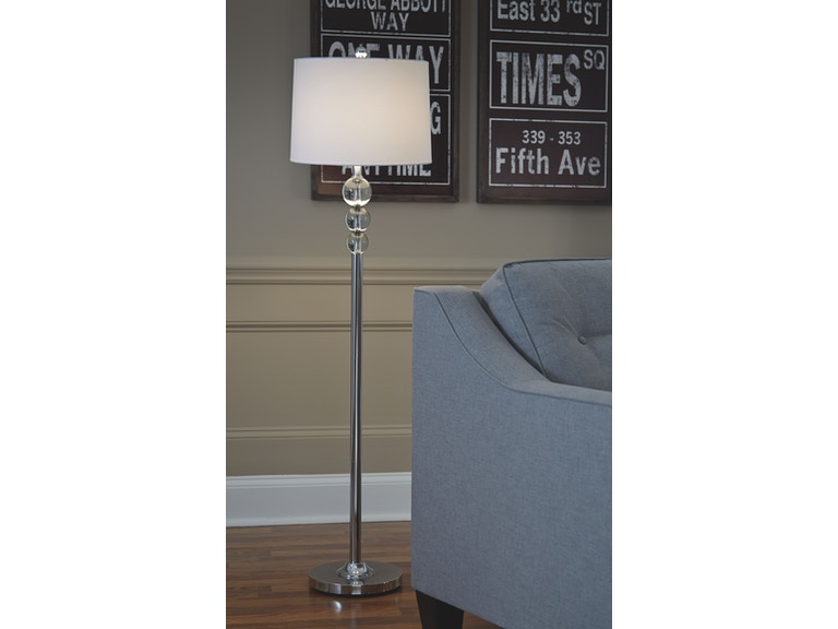 Signature Design By Ashley Lamps And Lighting Crystal Floor Lamp 1