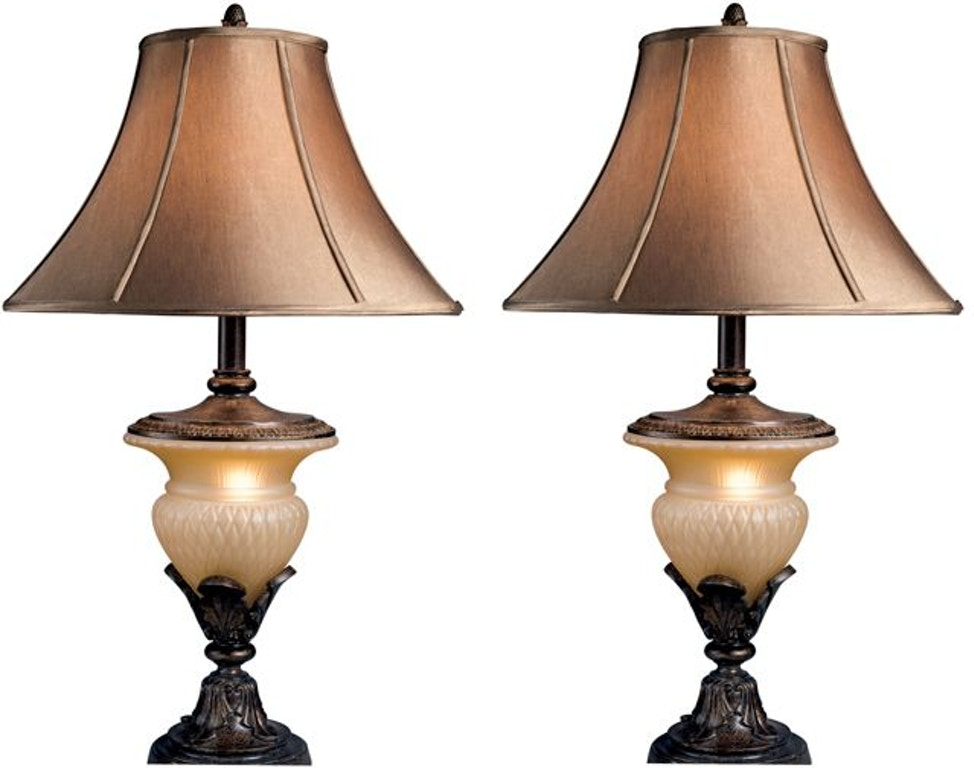 Signature Design By Ashley Lamps And Lighting Danielle Table Lamp Set Of 2 L530944 Capital