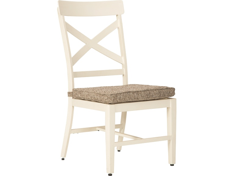 Signature Design By Ashley Outdoor Patio Preston Bay Armless Chair With Cushion Set Of 2 P460 601