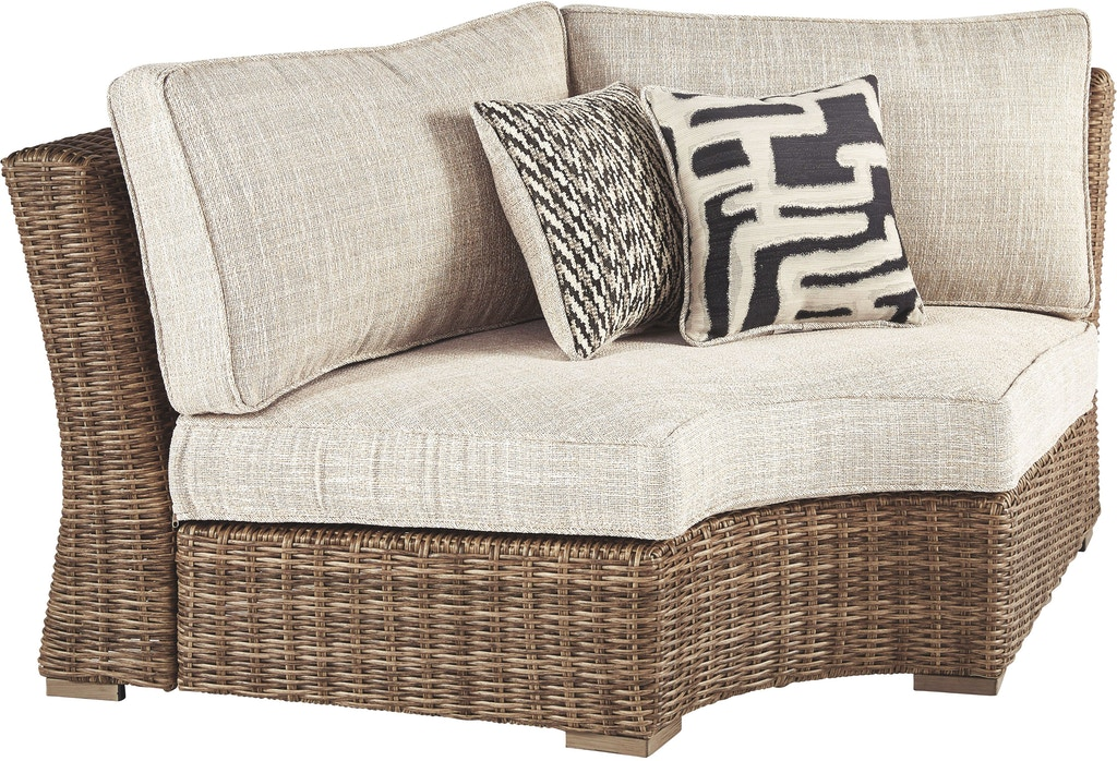 Signature Design by Ashley Outdoor/Patio Beachcroft 6 ... on Beachcroft Beige Outdoor Living Room Set id=51272