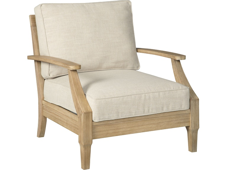 Signature Design by Ashley Outdoor/Patio Clare View Lounge ... on Clare View Beige Outdoor Living Room id=87275