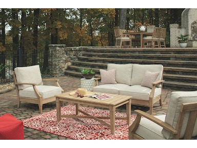 Signature Design by Ashley Outdoor/Patio Clare View ... on Clare View Beige Outdoor Living Room id=98275