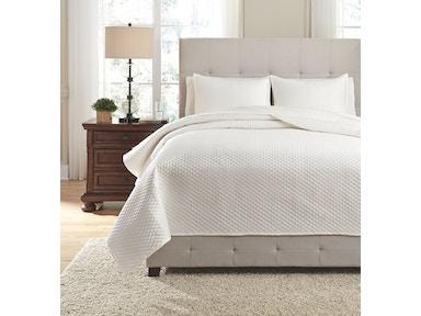 Signature Design By Ashley Bedroom King Quilt Set Q256053k Sofas Unlimited Mechanicsburg And