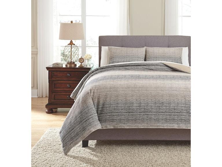 Signature Design By Ashley Bedroom King Duvet Cover Set Q331003k Furnitureland Delmar Delaware