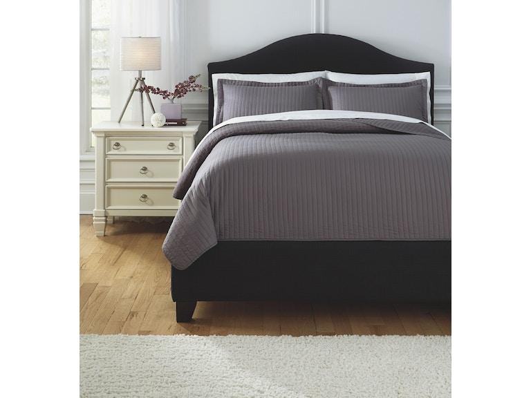 Signature Design By Ashley Bedroom Queen Coverlet Set Q498003q