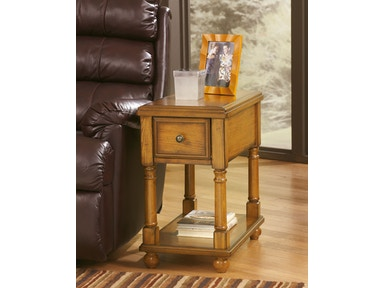 Signature Design by Ashley Chair Side End Table T007-430