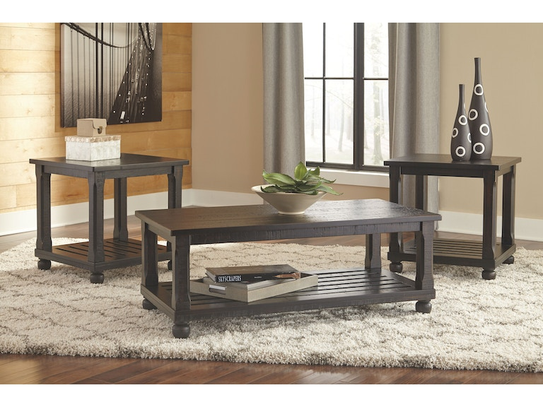 Signature Design by Ashley Living Room Occasional Table Set (3/CN ...
