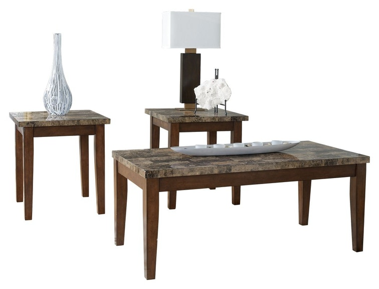 Signature Design By Ashley Living Room Theo Table Set Of 3 T158
