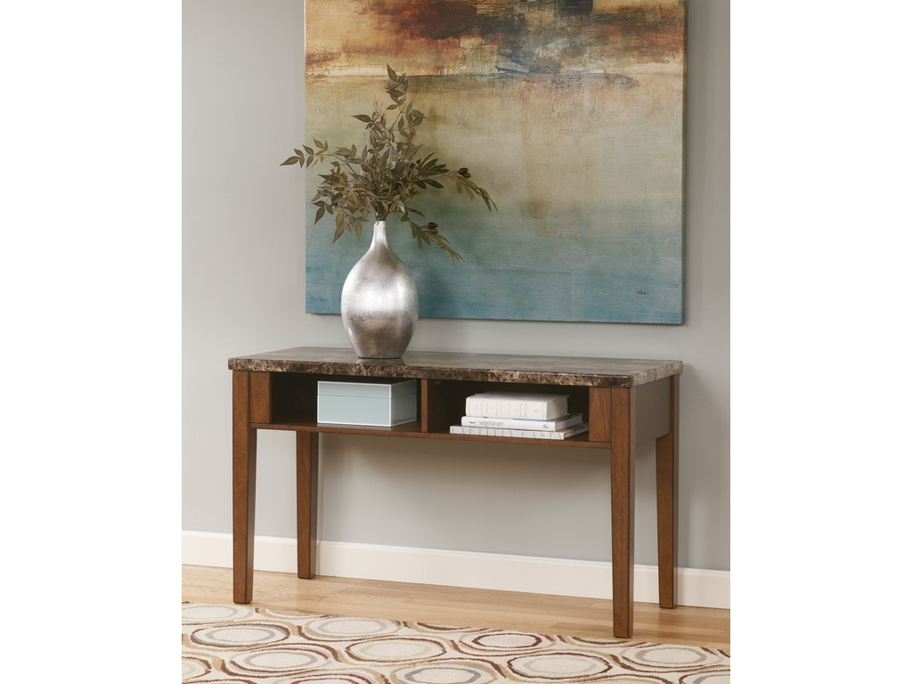 Signature Design By Ashley Living Room Console Sofa Table