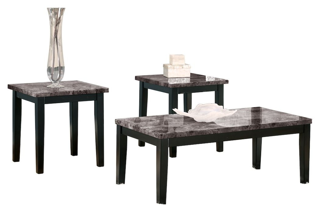 Signature Design By Ashley Living Room Maysville Table Set Of 3