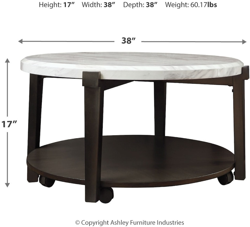 Signature Design By Ashley Living Room Janilly Coffee Table T254 8 Markson S Furniture