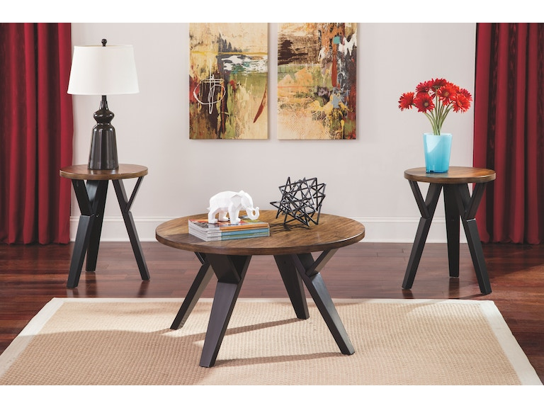 Signature Design By Ashley Living Room Occasional Table Set (3/CN) T267-13