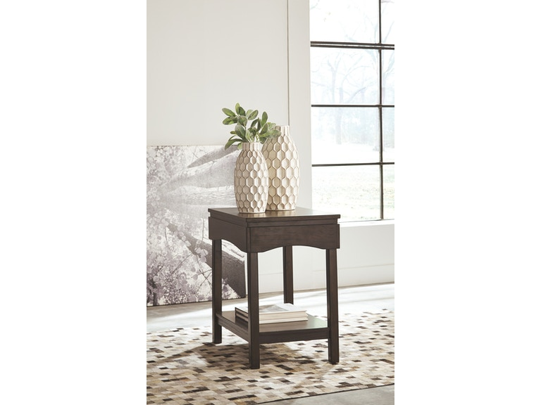 Signature Design By Ashley Living Room Chair Side End Table T327 7