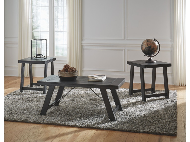 Signature Design by Ashley Living Room Occasional Table Set