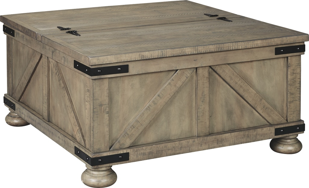 Signature Design By Ashley Living Room Aldwin Coffee Table With Lift Top T457 20 Markson S