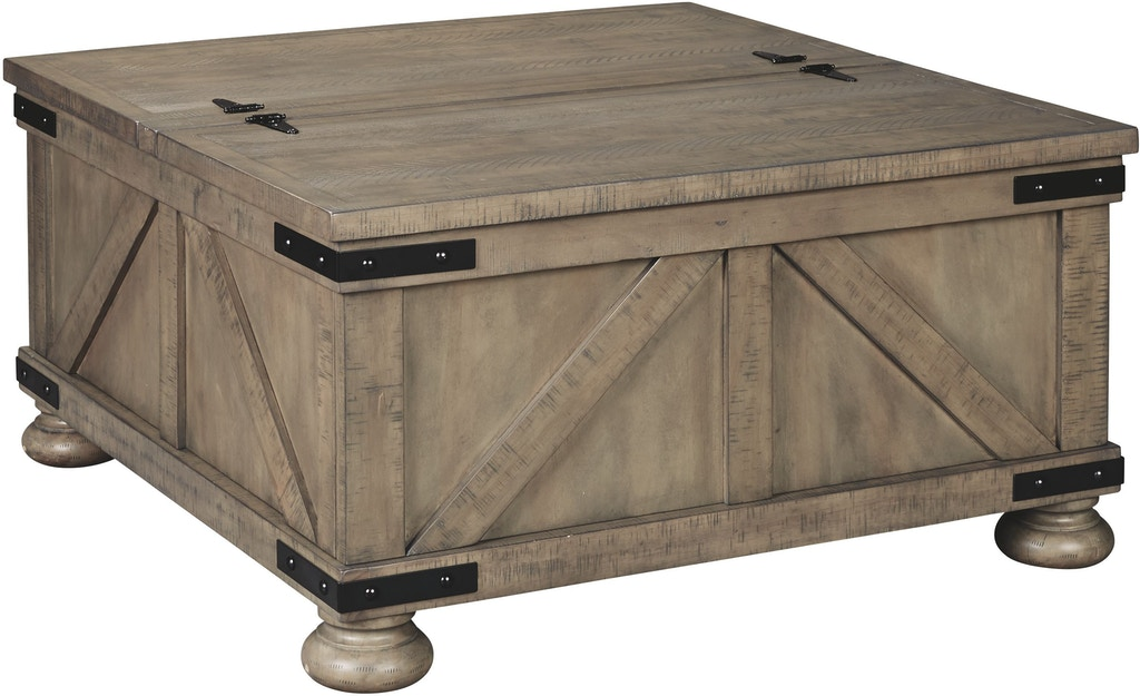 Signature Design By Ashley Living Room Aldwin Coffee Table With