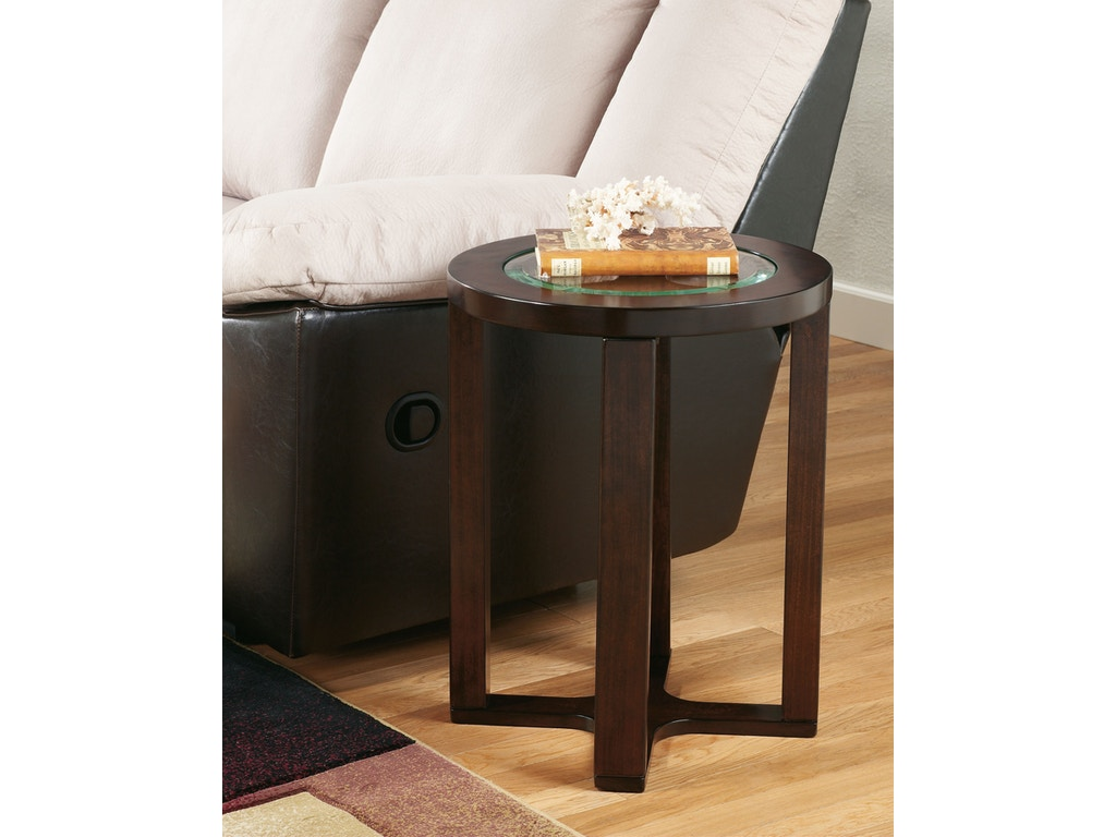 Signature Design By Ashley Living Room Round End Table