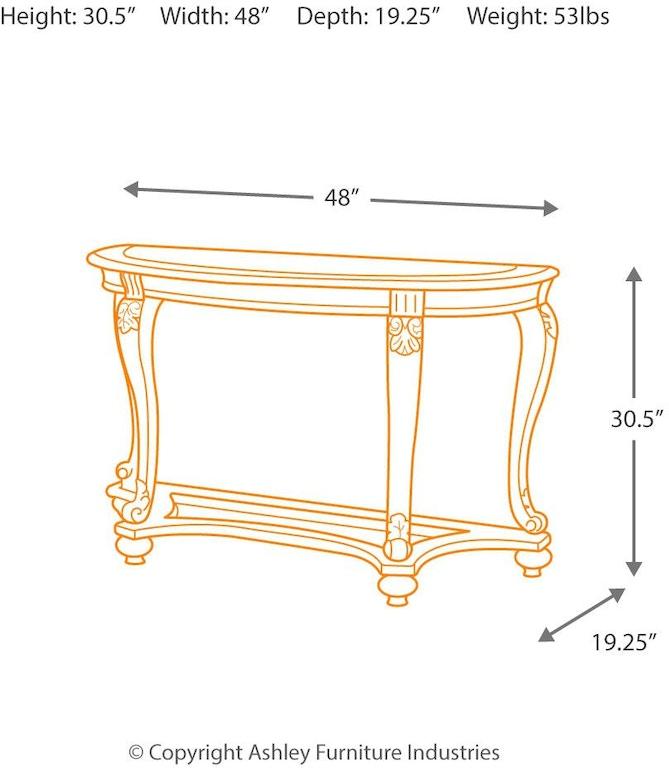 Signature Design By Ashley Living Room Norcastle Sofa