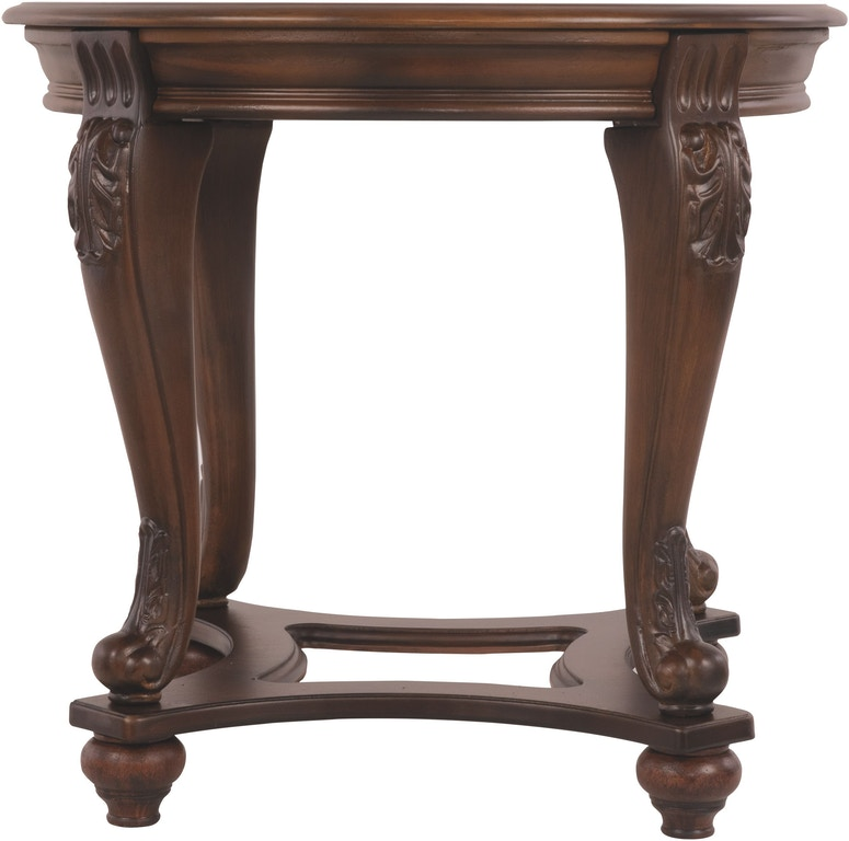 Signature Design By Ashley Living Room Norcastle End Table