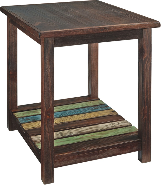 Signature Design By Ashley Living Room Mestler End Table