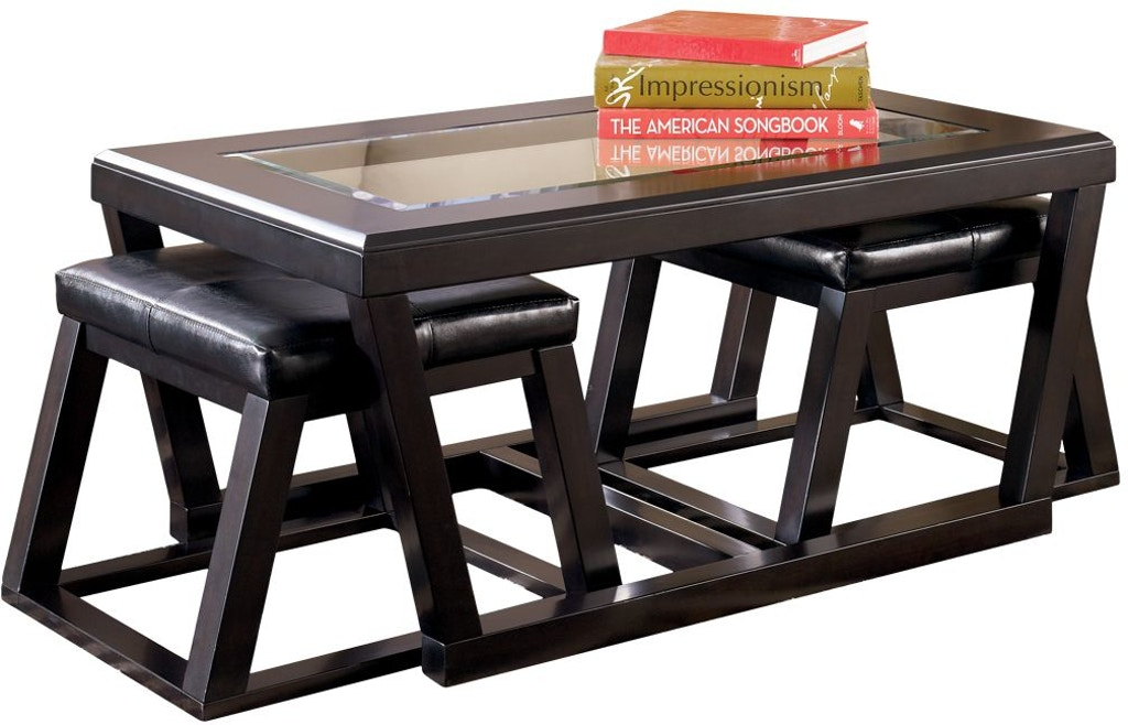 Signature Design By Ashley Living Room Kelton Coffee Table With