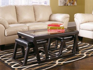 living room stools. Signature Design by Ashley Cocktail TBL w 2 Stools  3 CN T592 Living Room Blockers Furniture Ocala FL