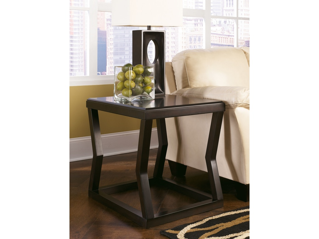 Signature design by ashley living room rectangular end for Table design odessa fl