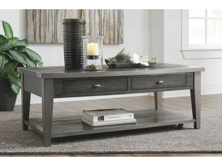 Signature Design By Ashley Living Room Rectangular Cocktail Table - Ashley center table