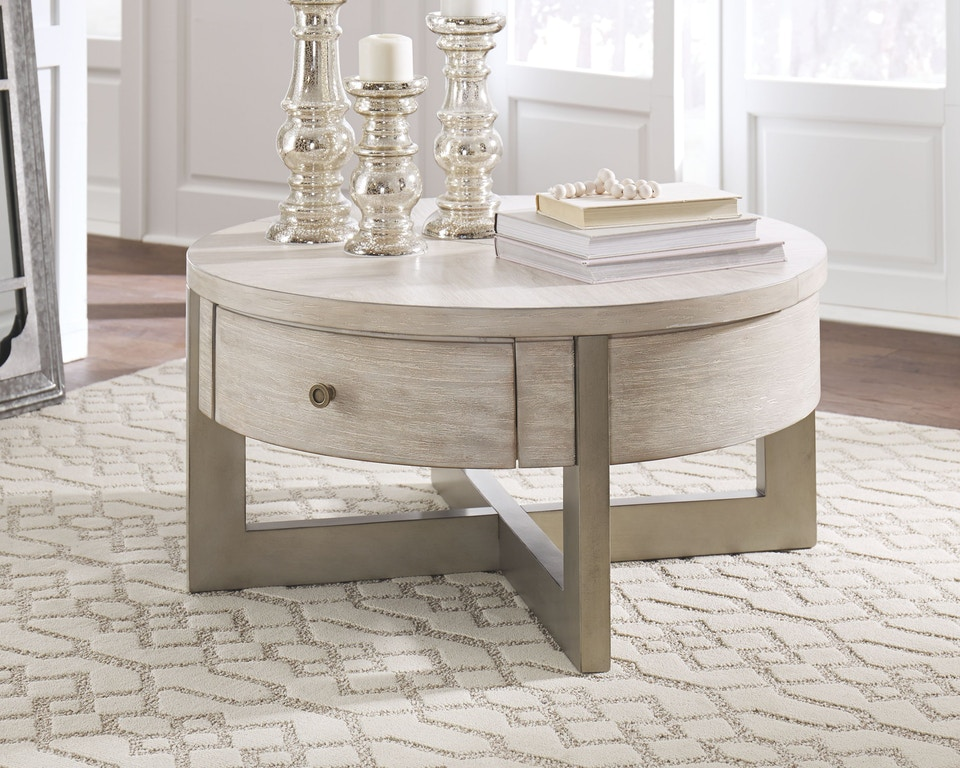 Signature Design By Ashley Living Room Urlander Coffee Table With