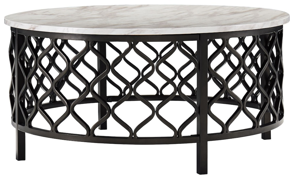 Signature Design By Ashley Living Room Trinson Coffee Table T691 8