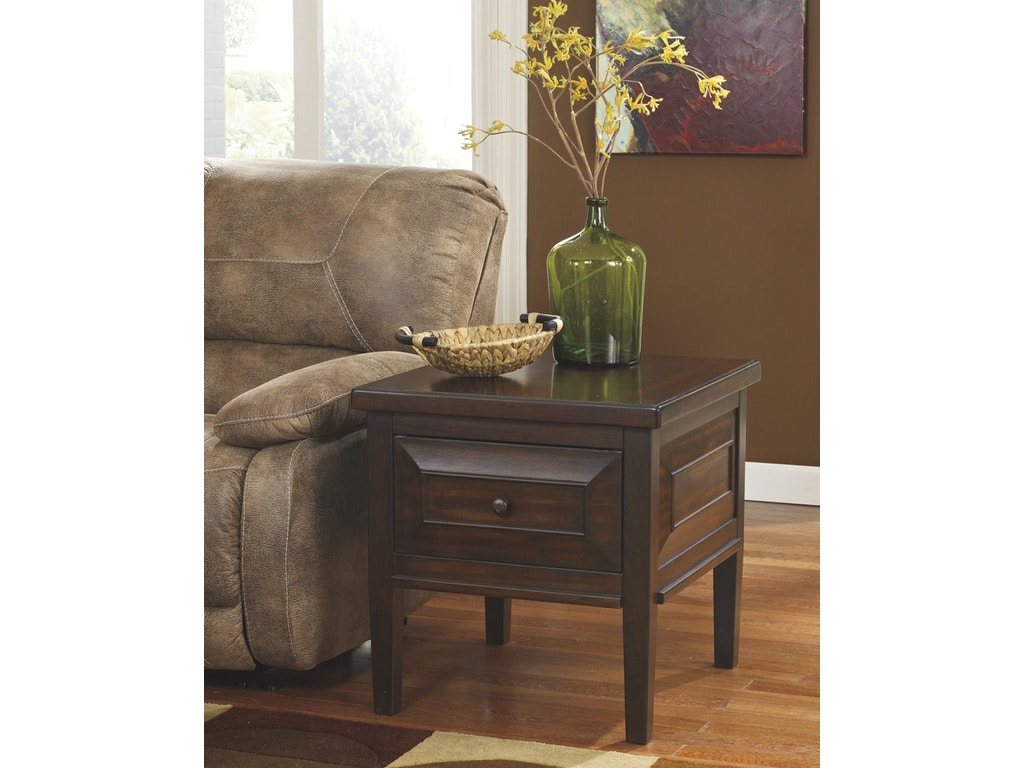 by ashley living room square end table t695 2 indian river furniture