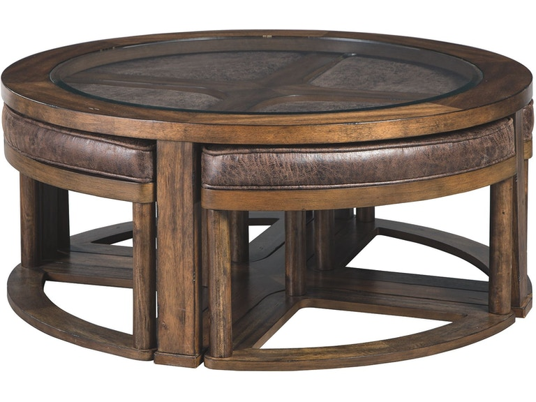 Fine Hannery Coffee Table With Stools Set Of 5 Gmtry Best Dining Table And Chair Ideas Images Gmtryco