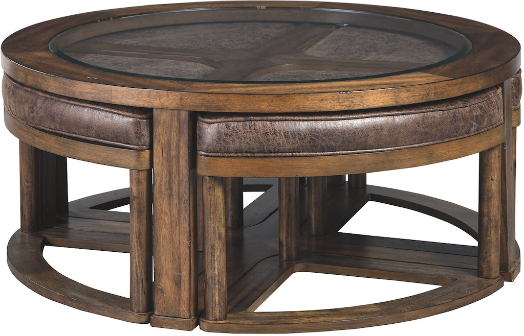 Signature Design By Ashley Living Room Hannery Coffee Table With
