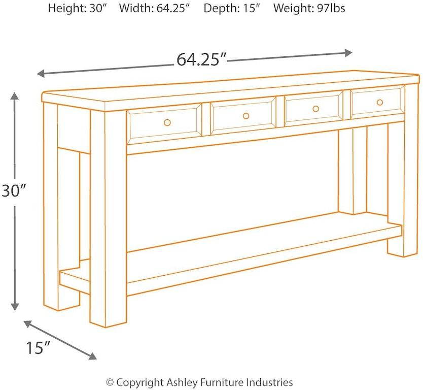 Signature Design By Ashley Living Room Gavelston Sofa