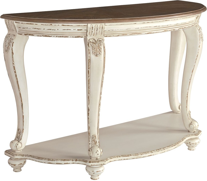 Brilliant Signature Design By Ashley Living Room Realyn Sofa Table Machost Co Dining Chair Design Ideas Machostcouk