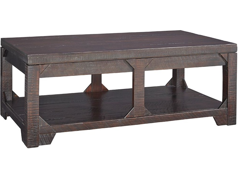 Signature Design By Ashley Living Room Rogness Coffee Table With Lift Top T745 9 Hennen Furniture