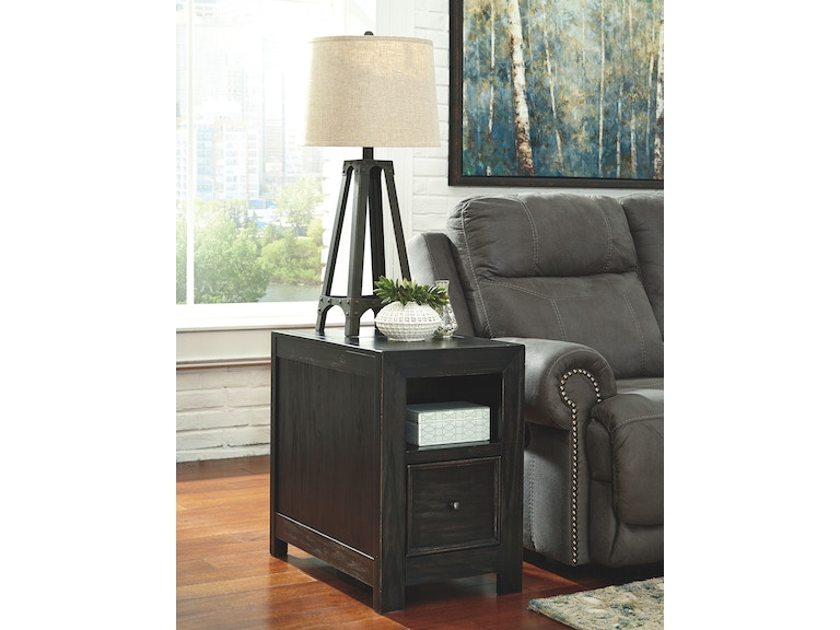 Signature Design By Ashley Living Room Chair Side End Table