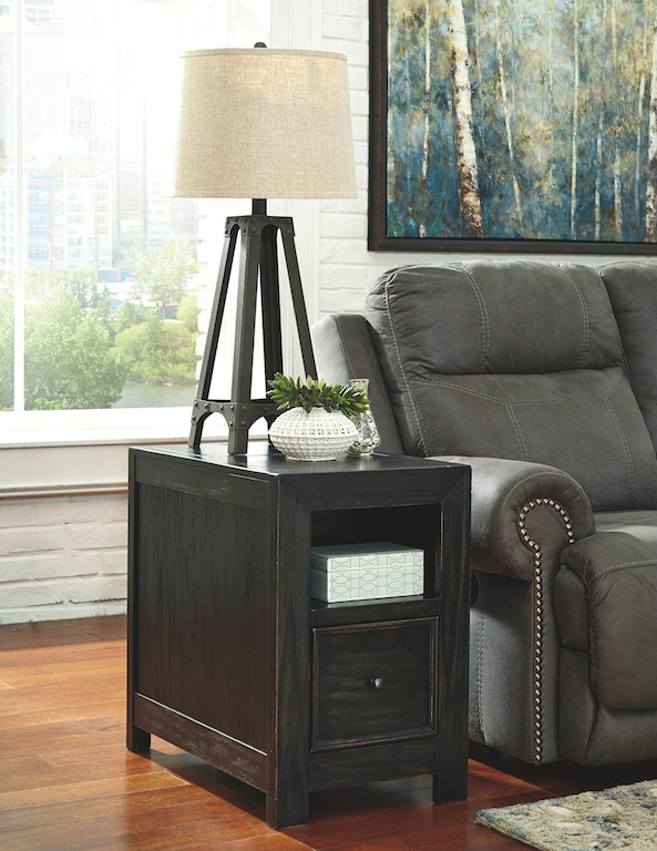Signature Design By Ashley Living Room Chair Side End