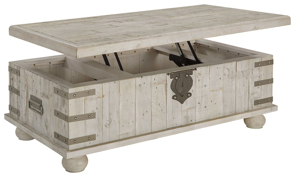 Signature Design By Ashley Living Room Carynhurst Coffee Table