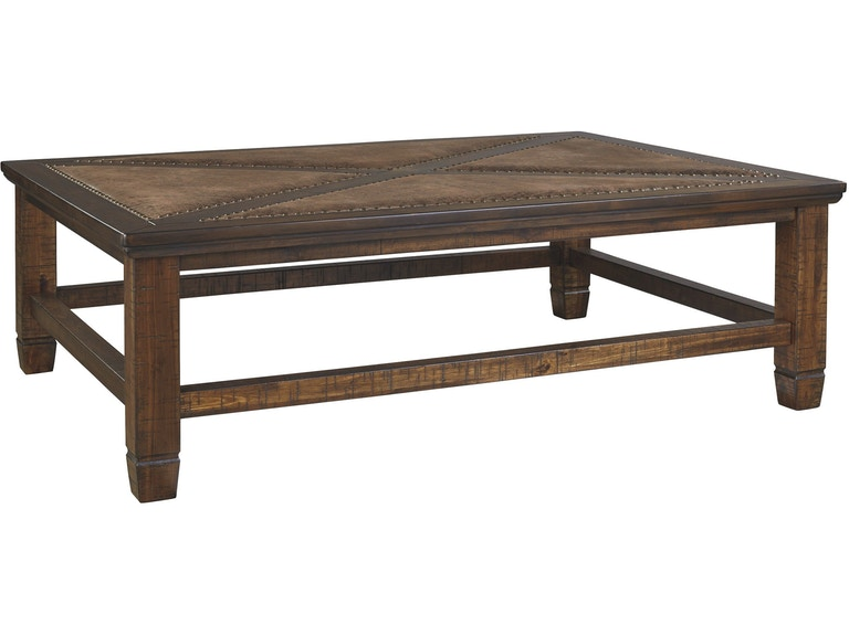 Signature Design By Ashley Living Room Royard Coffee Table T765 1 Hennen Furniture St Cloud