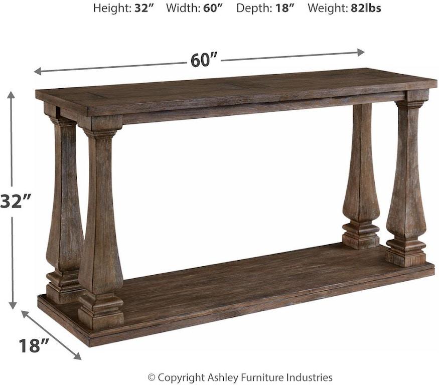 Ashley Johnelle Sofa Table T776-4 - Portland, OR | Key Home Furnishings