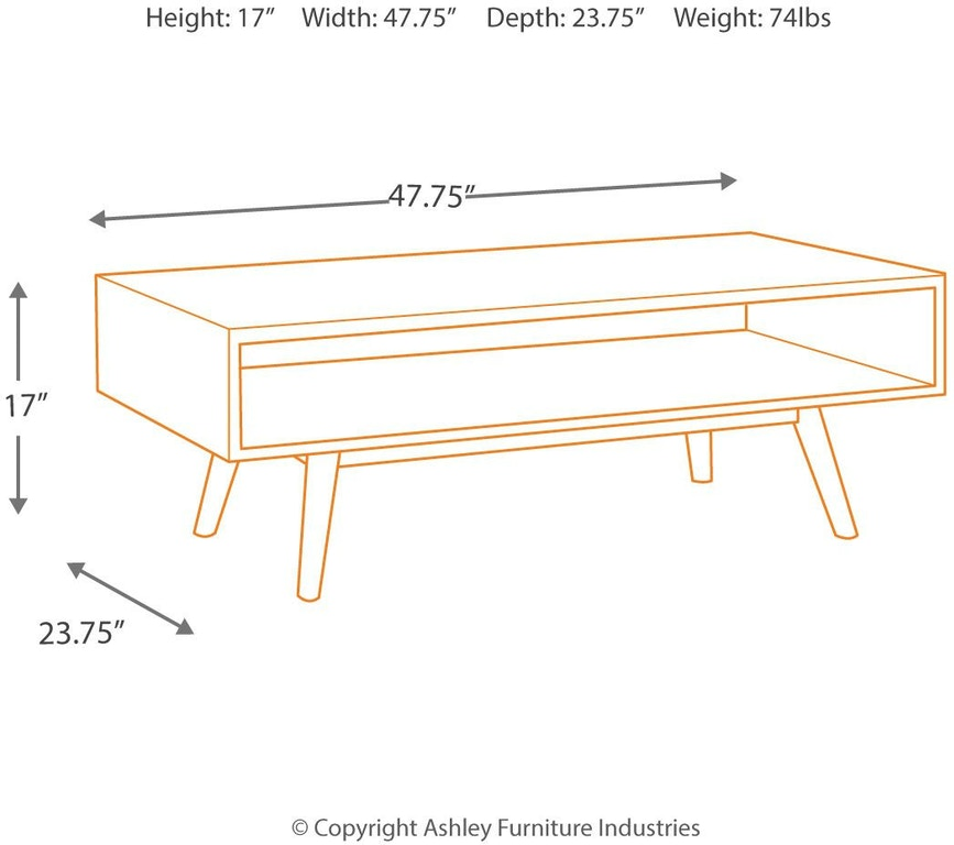 Ashley Furniture Victoria Texas: Signature Design By Ashley Living Room Kisper Coffee Table