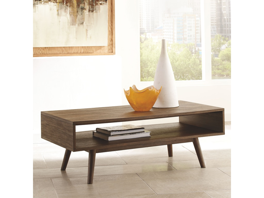 Signature Design By Ashley Living Room Rectangular Cocktail Table T802 1 Factory Direct