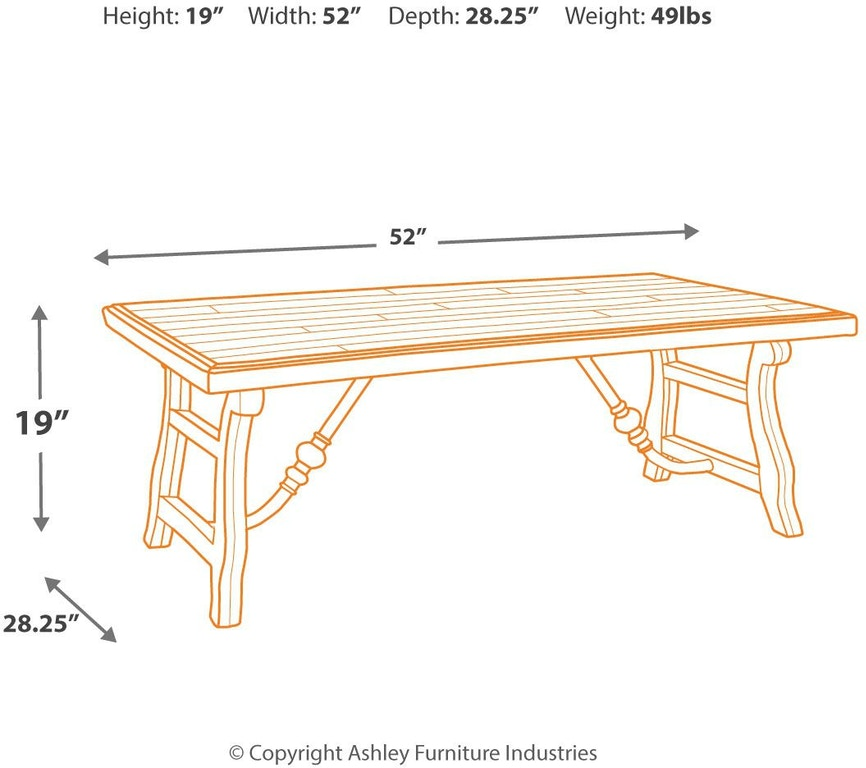 Dazzelton Dining Room Table: Signature Design By Ashley Living Room Dazzelton Coffee