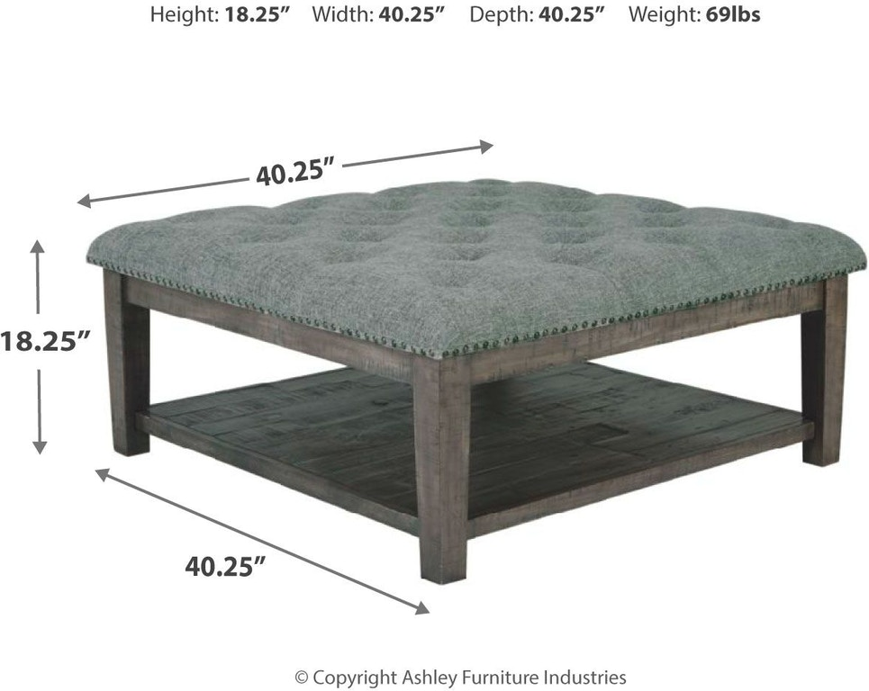 Signature Design By Ashley Living Room Borlofield Coffee Table Ottoman T831 21 Markson S